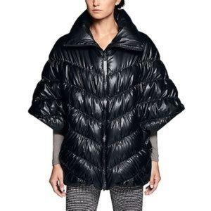 Nike cascade down puffer poncho coat
